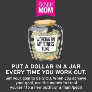 dollar in jar