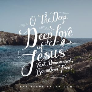 deep deep love of jesus