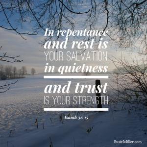 Isaiah 30;15