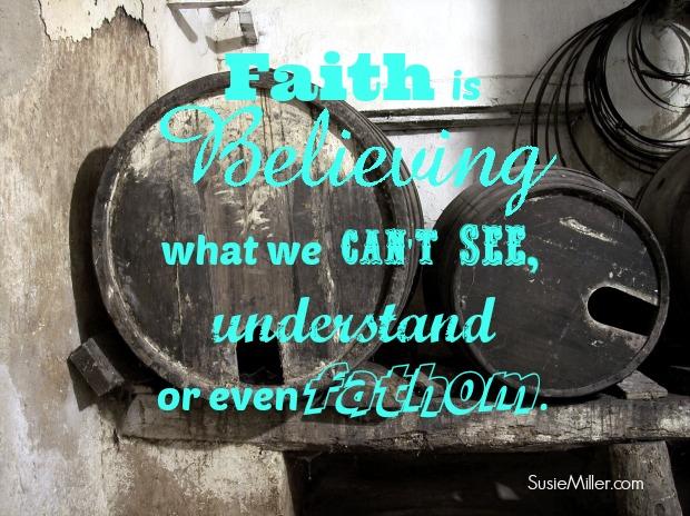 faith is believing