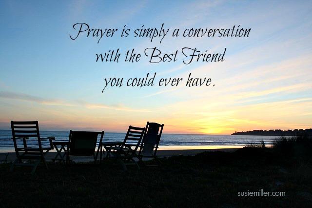 prayer is conversation