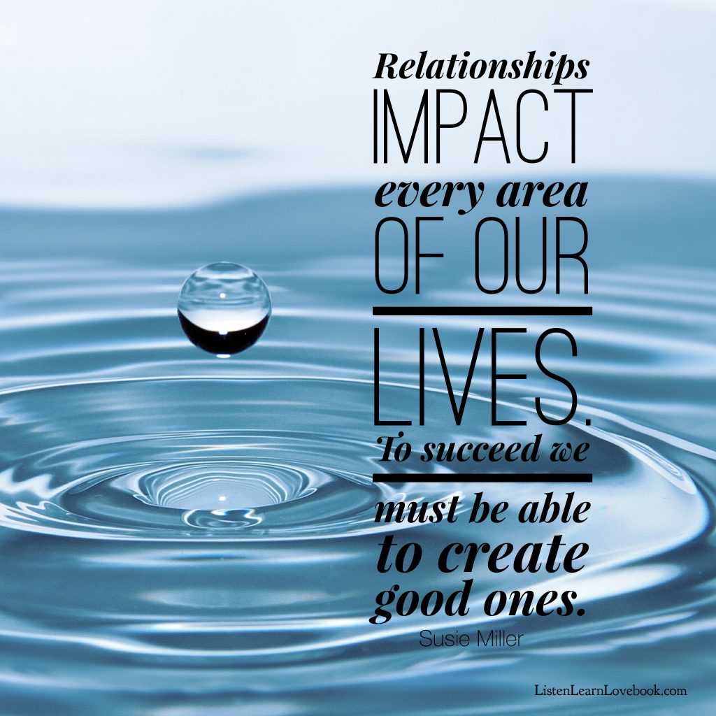 relationships impact every area of life