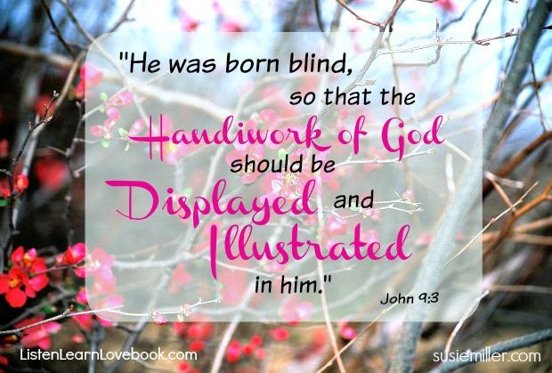 john 9-3 handiwork of god