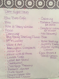 date night list