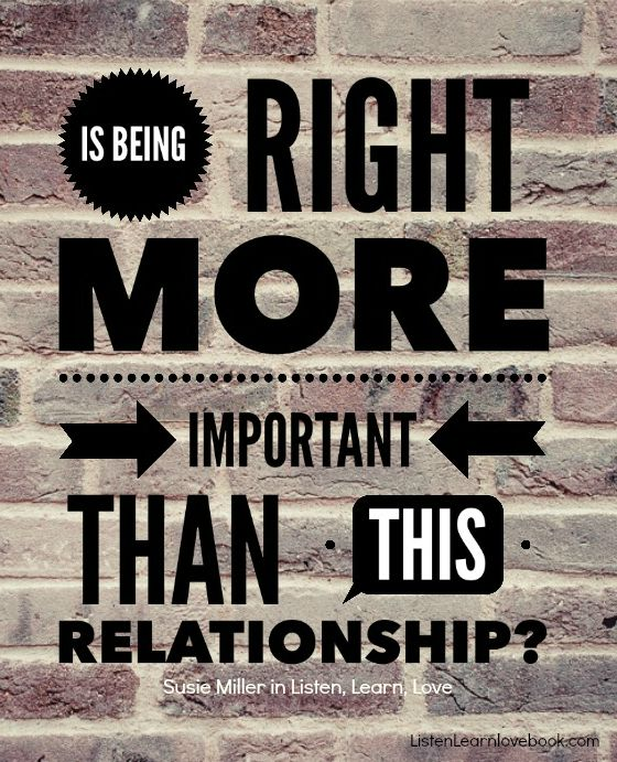 right or relationship