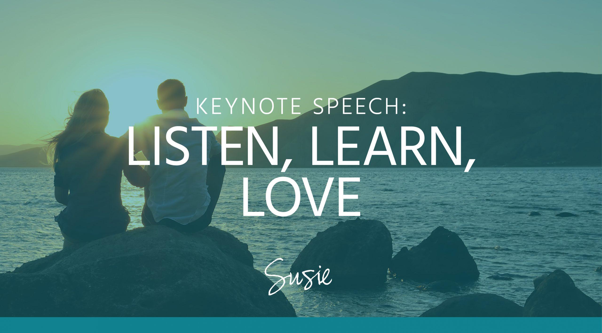 Susie Miller - Keynote - listen